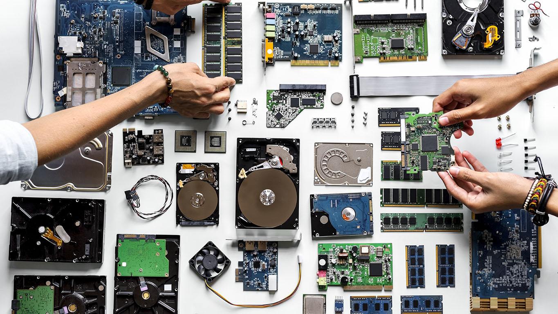 Computer build parts