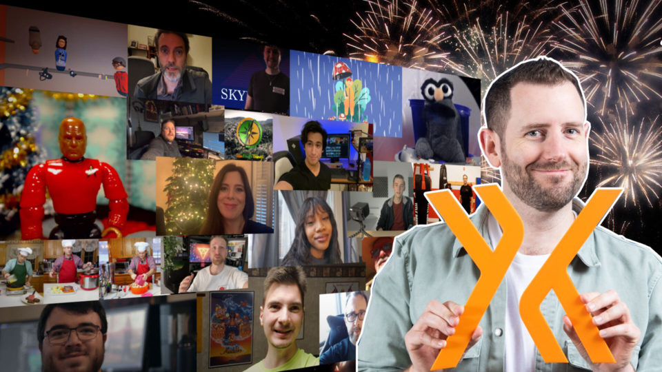 Thumbnail for 2020 new year's wrap up video