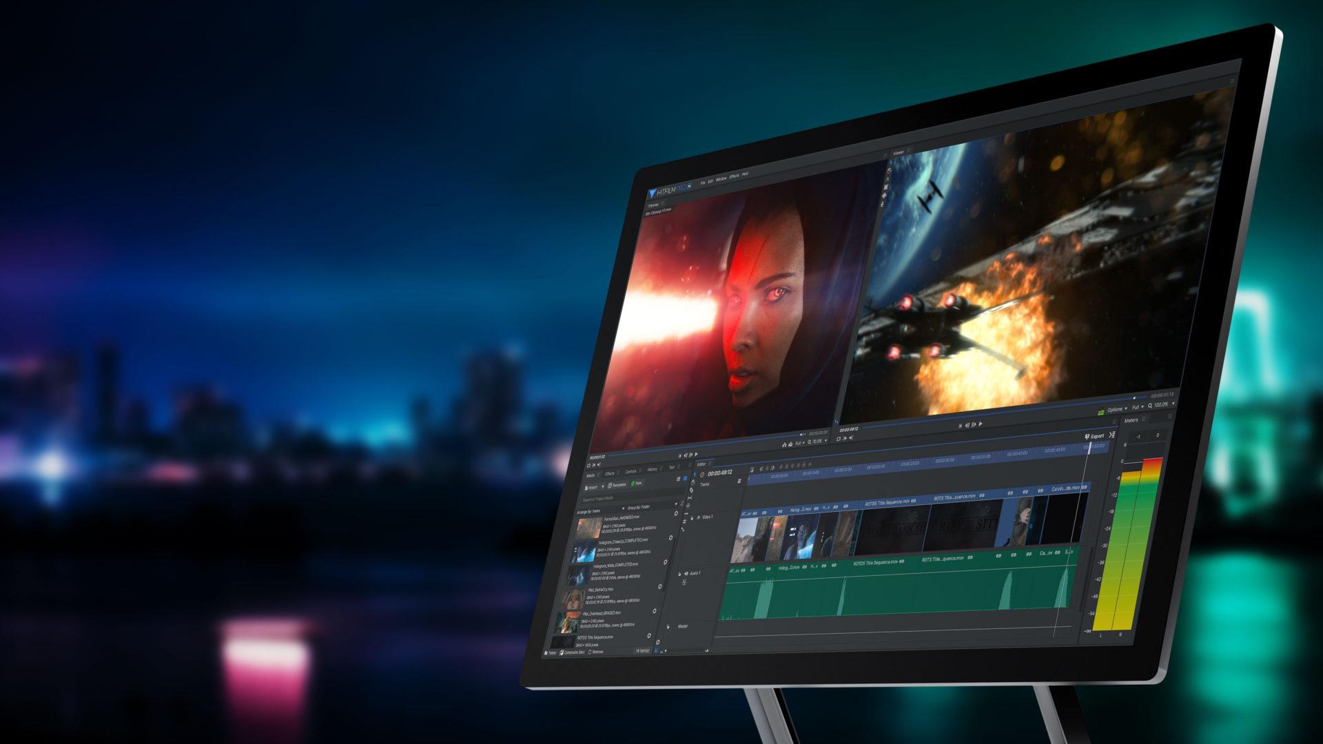 HitFilm Pro for filmmaking
